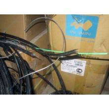 Оптический кабель Б/У для внешней прокладки (с металлическим тросом) в Калининграде, оптокабель БУ (Калининград)