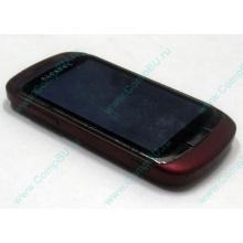 Красно-розовый телефон Alcatel One Touch 818 (Калининград)